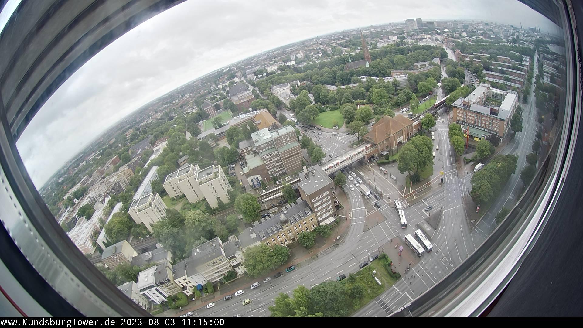 Hamburg – Mundsburg Tower Webcam Live
